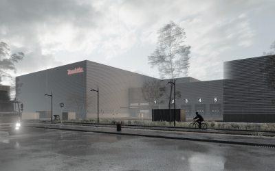 Extension d'un entrepôt Logistique – Bussy-Saint-Georges (77)