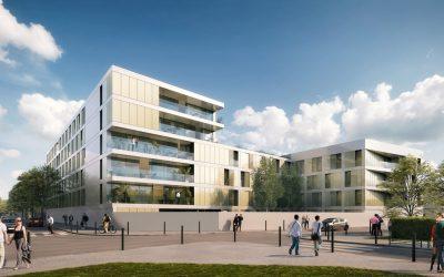 Construction d'un bâtiment Cadres Célibataires de 200 places pour l'ESID – ARCUEIL (94)