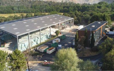 Centre de tri de déchets – LA MOLE (83)