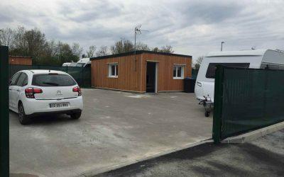 Démolition/reconstruction et création d'une aire d'accueil et de terrains familiaux à Tournan-en- Brie (77)