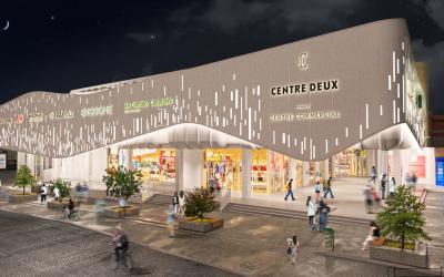 Rénovation du centre commercial Centre Deux – Saint Etienne (42)