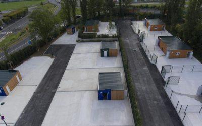 Aménagement d'une aire d'accueil pour les gens du voyage – Lagny-sur-Marne (77)